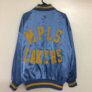 Mitchell Ness M&N Minneapolis Lakers Jacket XL